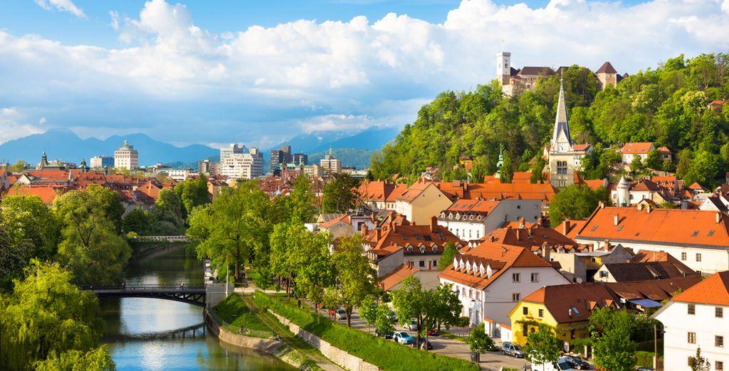 Start in the capital city of Ljubljana