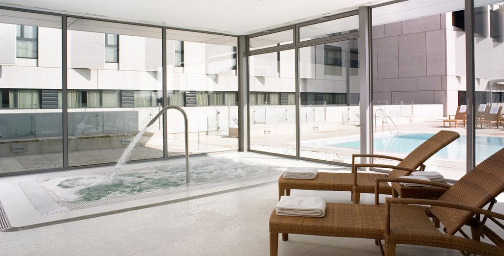 Or indulge in a sensuous experience at the spa