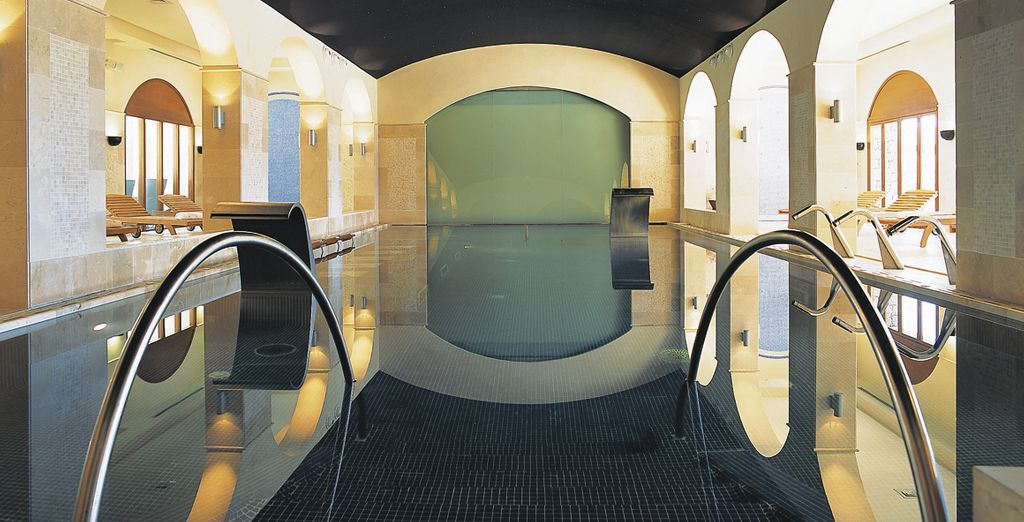 Relax completely in the Spa