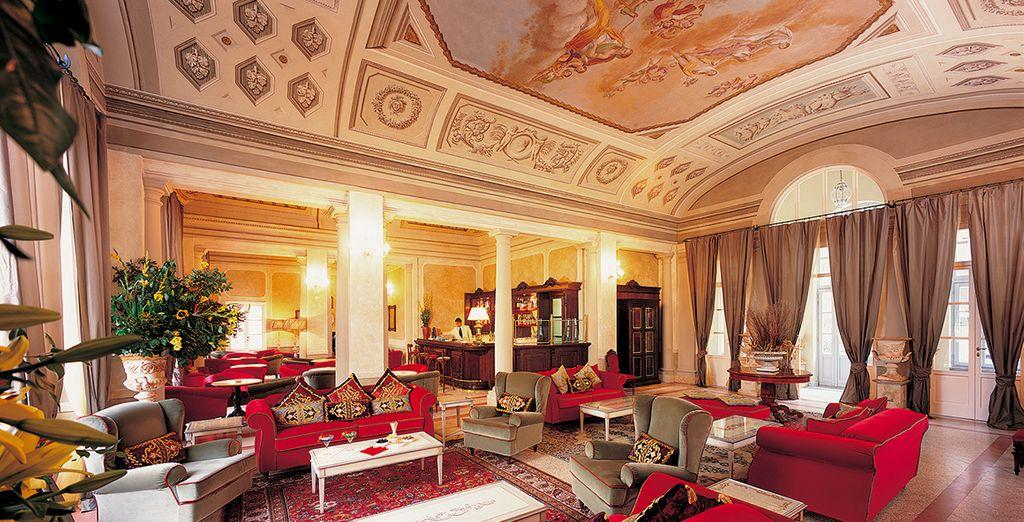 Presenting unabashed Italian grandeur