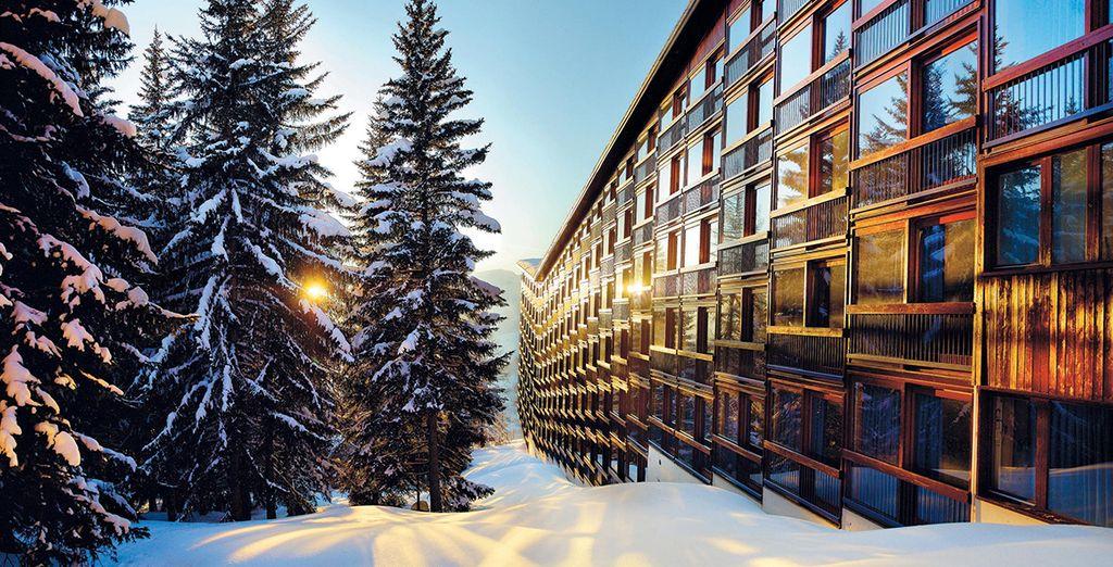 A winter wonderland awaits - Hotel Du Golf Les Arcs 1800