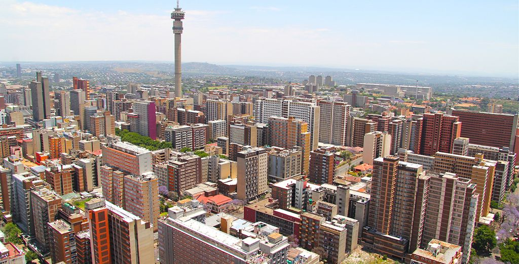 Johannesburg, capitale of South Africa