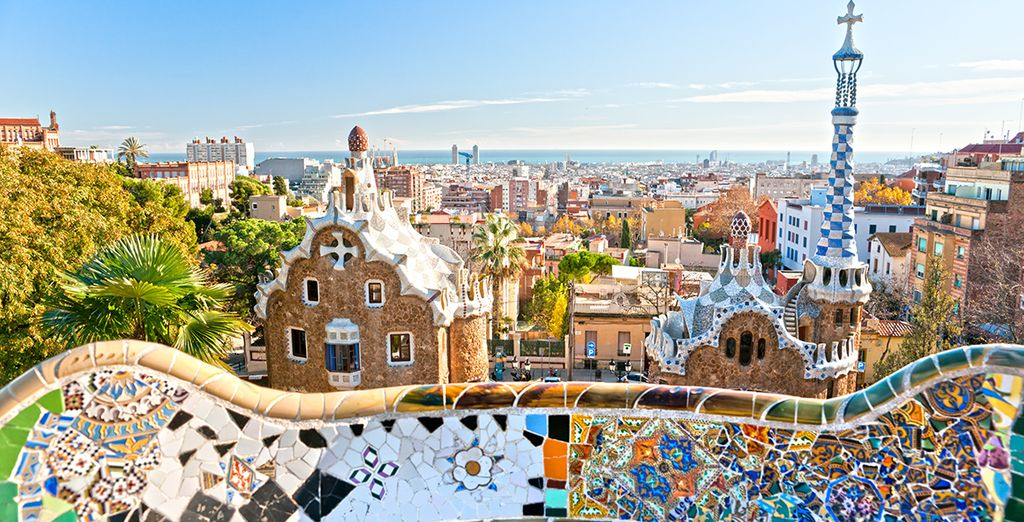 And finally enigmatic Barcelona!