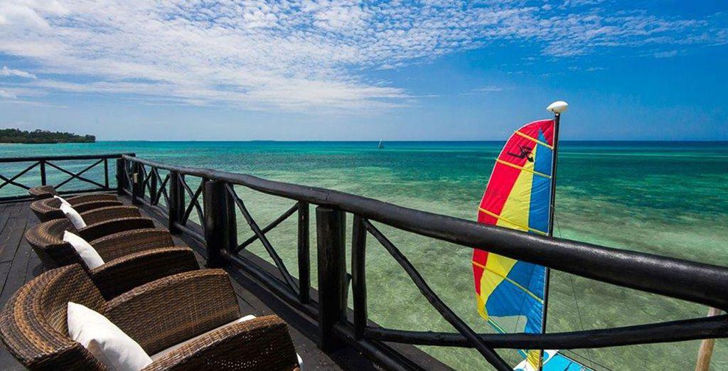 The fabulous Seacliff Resort