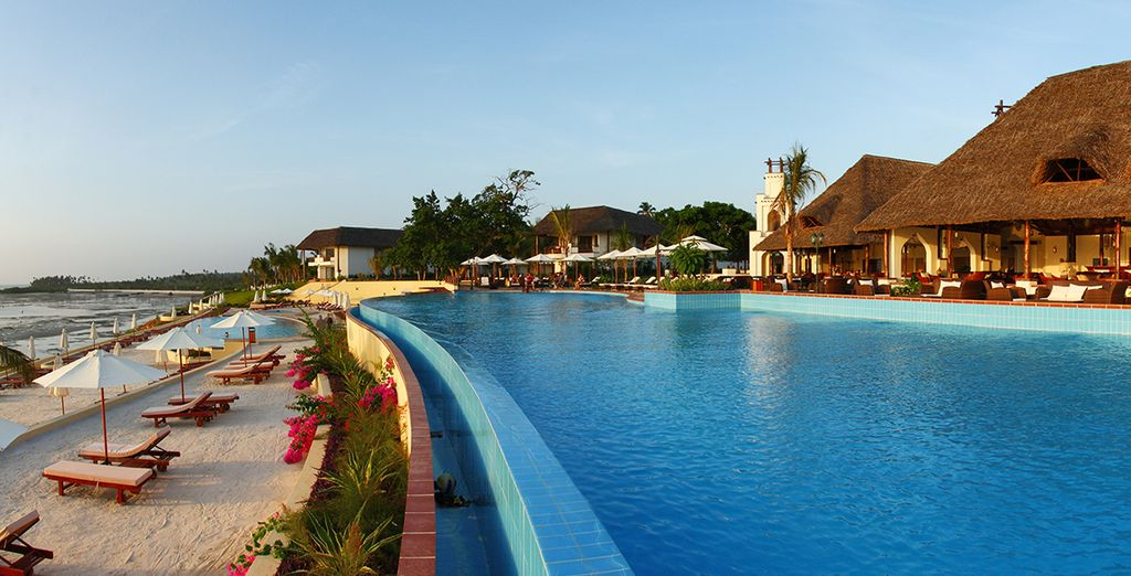 Sparkling pools