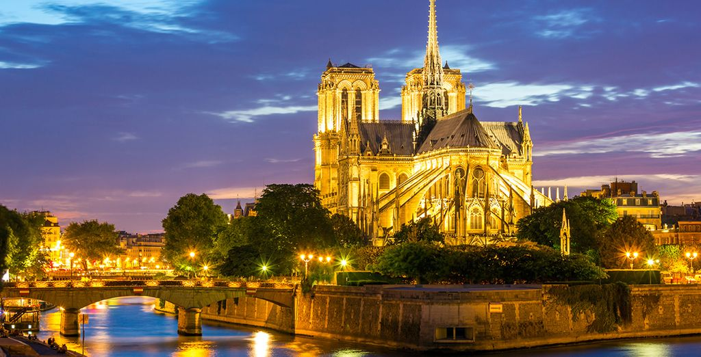 And the romantic charm of Notre Dame Cathedral