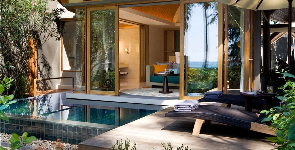 Or an even more luxurious Pool Villa