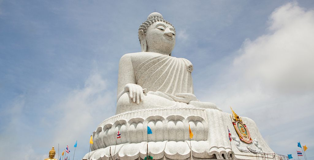...visit the serene big buddha...