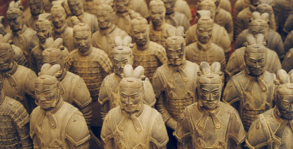 Where you will find the amazing Terracotta Warriors