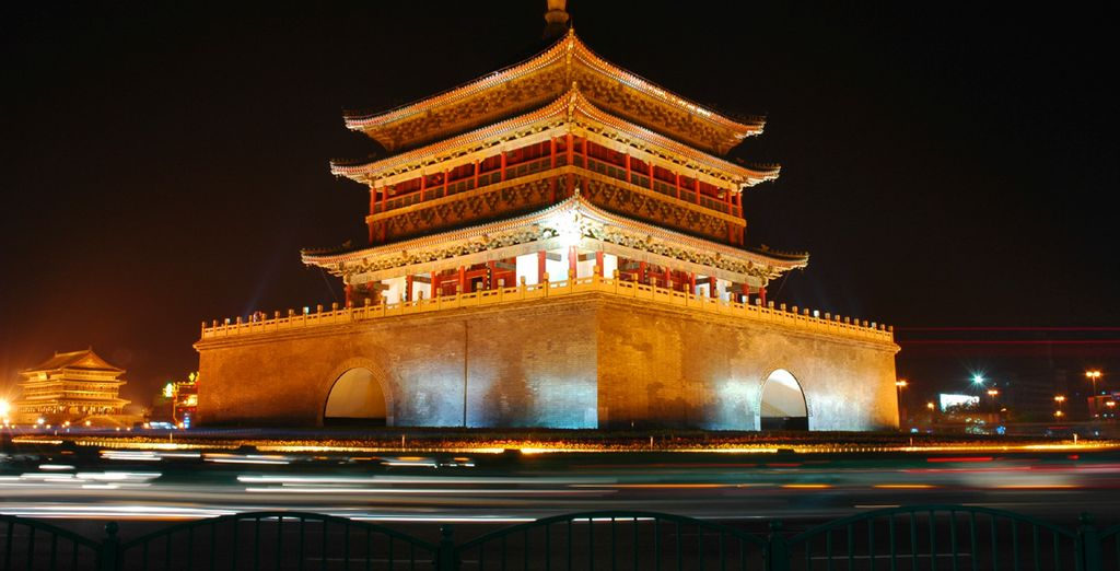 Then fly to Xi'an, surrounded by a beautifully preserved 14th century city wall