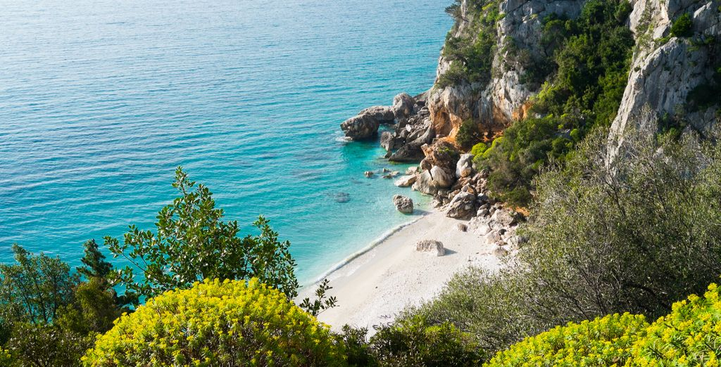 Admire the beauty of the coast of Sardinia