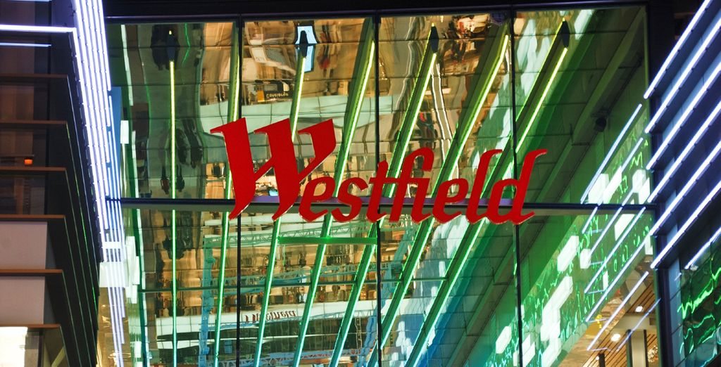 You're just 4 tube stops from Westfield Shopping Centre, where you will receive a VIP discount of up to 20%!