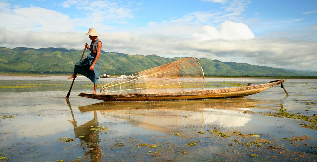 And the fresh Inle Lake