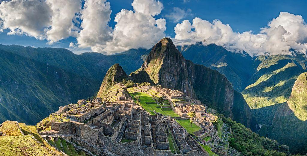 Visit ancient wonders