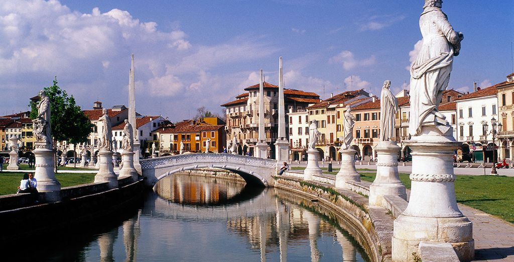 If you wish, head inland on an optional excursion to Padua