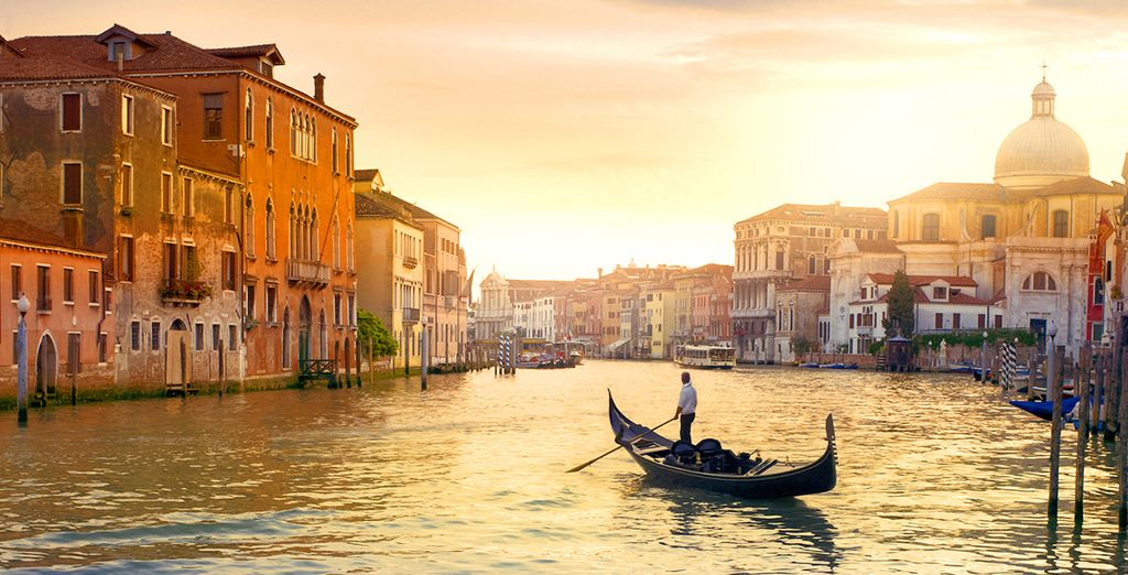 For 5 days, cruise along the canals of the most romantic city in the world....