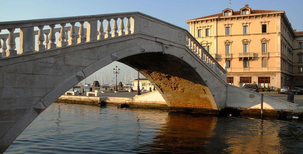 Sail under the bridges of Chioggia...