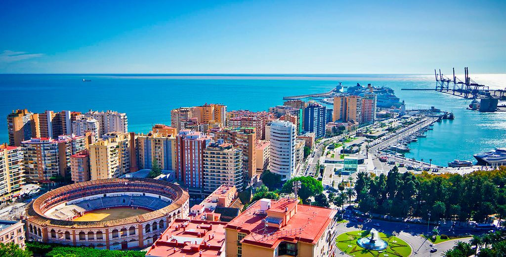 Spend some time exploring Malaga