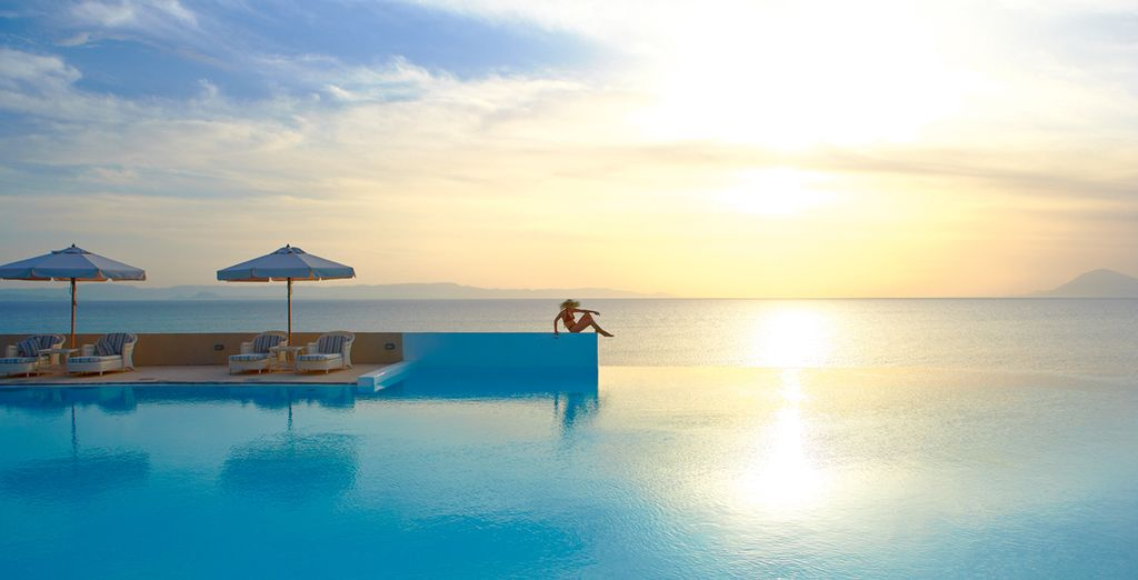 Discover a 5* Ionian beach resort where the sunsets are unimaginable - Grecotel Olympia Riviera Thalasso 5* Peloponnese