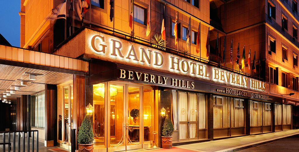 Welcome to the 4* Beverly Hills Hotel - Hotel Beverly Hills Rome 4* Rome