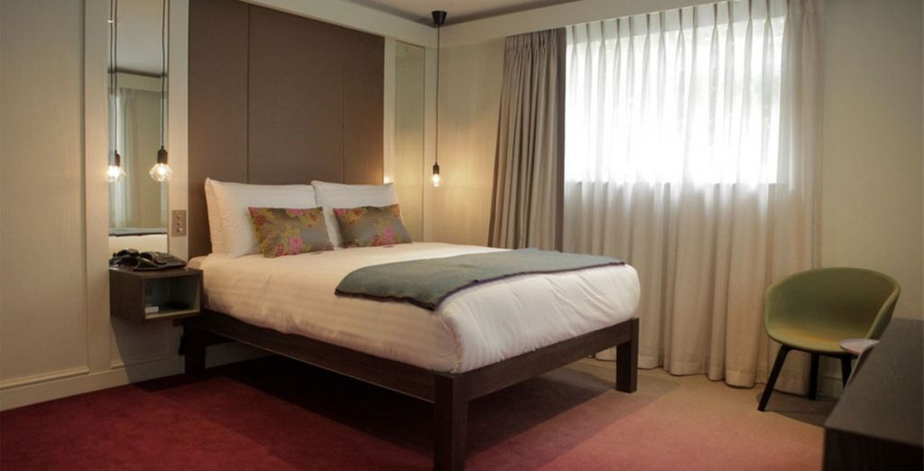 Our members will stay in a Club Double Room