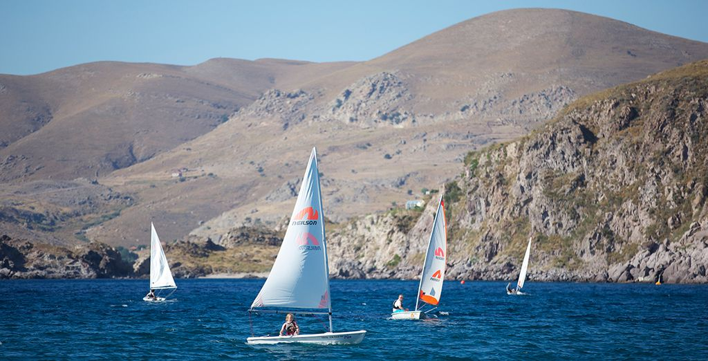 From windsurfing to dinghy sailing