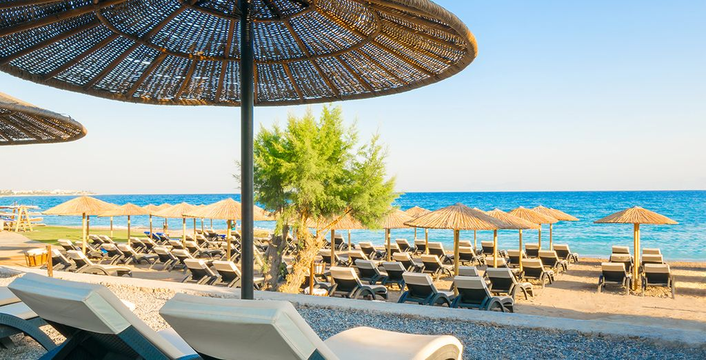 Just steps away from the Aegan Sea  - Olympic Palace Hotel 5* Rhodes