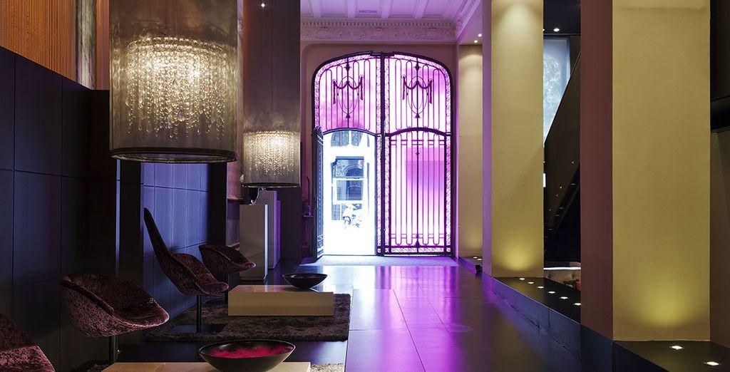 A unique boutique hotel in Barcelona