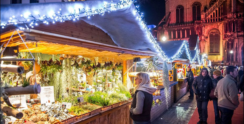 Full of bustling Christmas markets and cosy cafes