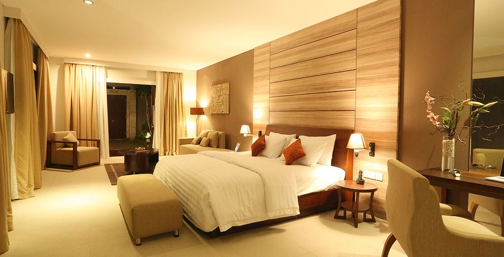 Spacious and luxurious rooms