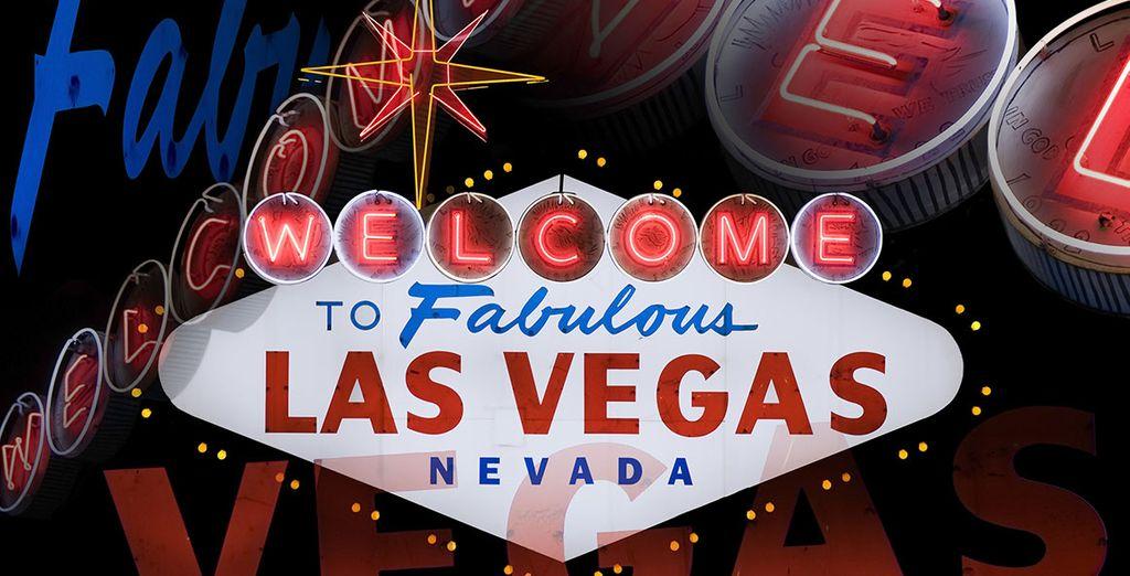 Indulge in some fast paced fun in Las Vegas