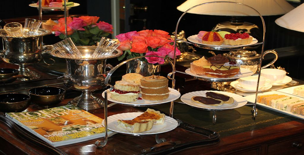 And we've included a complimentary afternoon tea