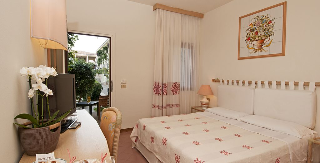Sleep in a well-appointed Classic Room, charmingly decorated