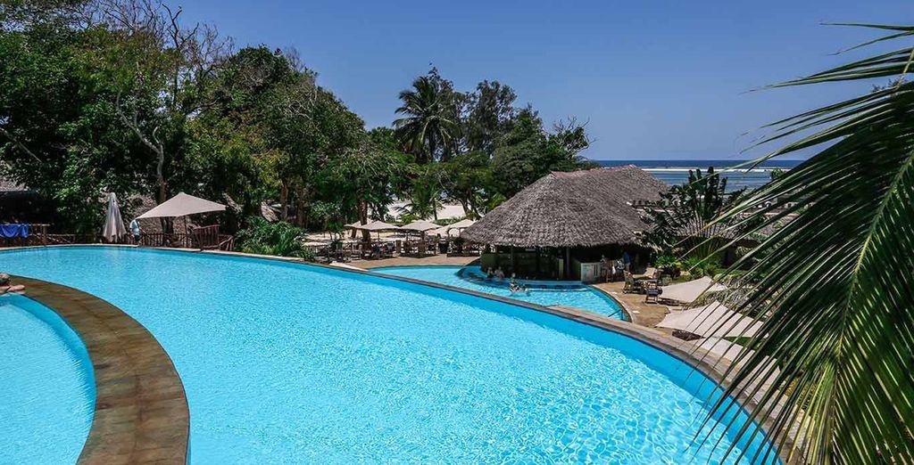 Soak up the sun - Baobab Beach Resort & Salt Lick Safari Diani Beach
