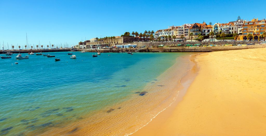 And Cascais is home to glorious beaches