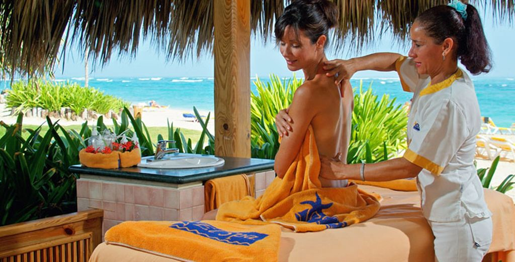 Treat yourself to a massage to ease any tensions away