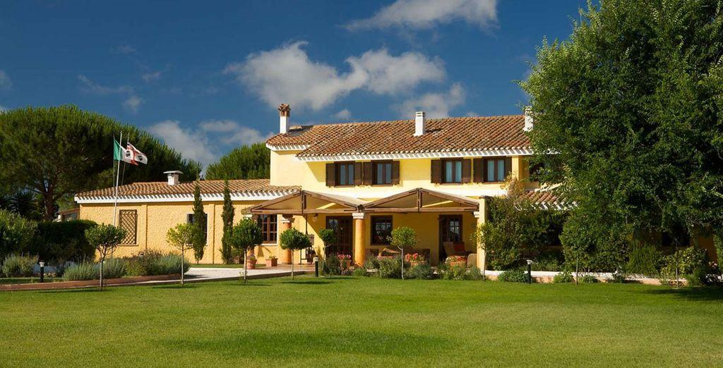 Visit this wonderful Sardinian country lodge - Is Benas Country Lodge 4* Sardinia