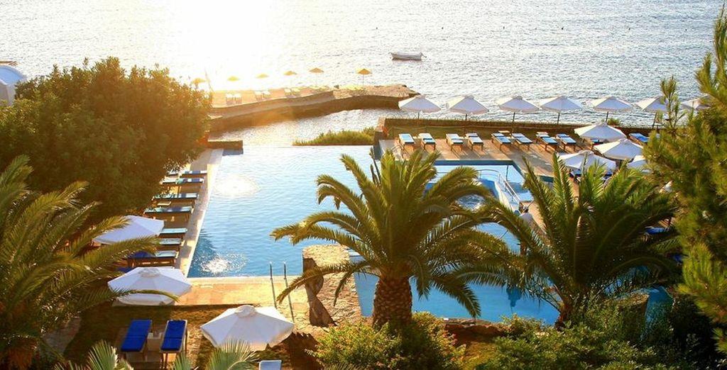 A glorious beachfront property - St Nicolas Bay Resort 5* Crete