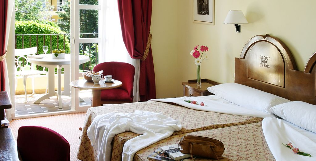 Stay in a Superior Room in the Monasterio San Miguel