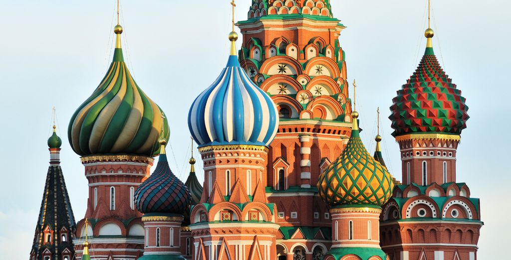 Experience the beguiling architecture of Moscow