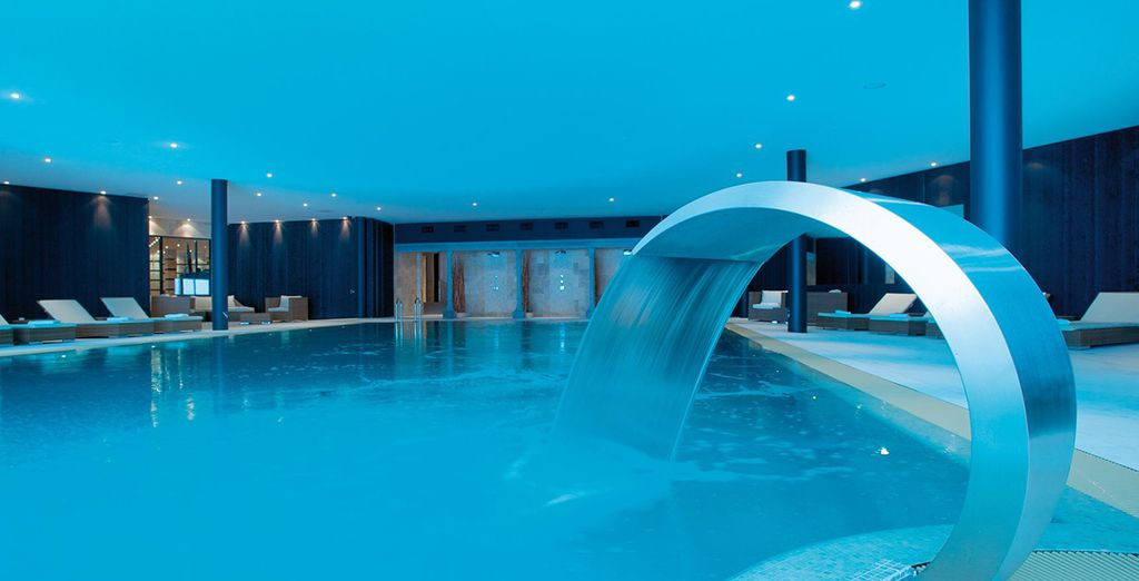 And find peace in this luxury spa hotel