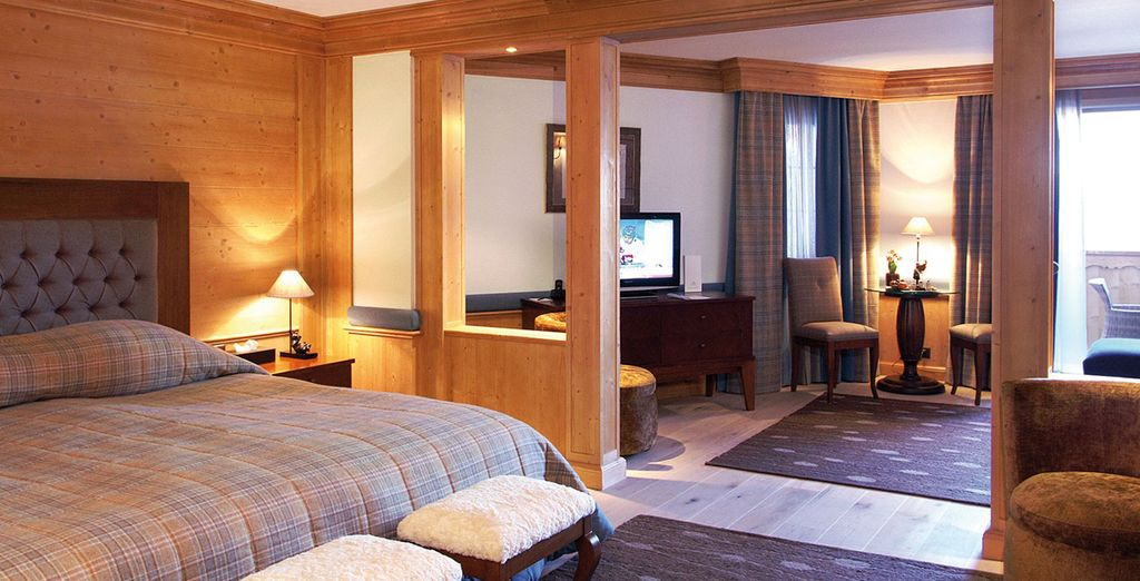 Stay in a lovely Junior Suite