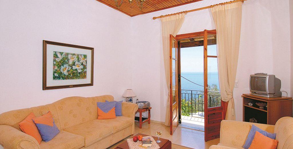 And plenty of living space (Villa Katina)