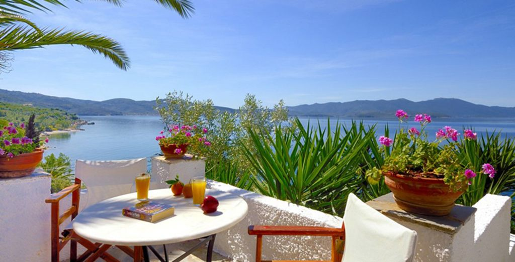 A remote haven of peace - Pounda Paou 4* Pelion