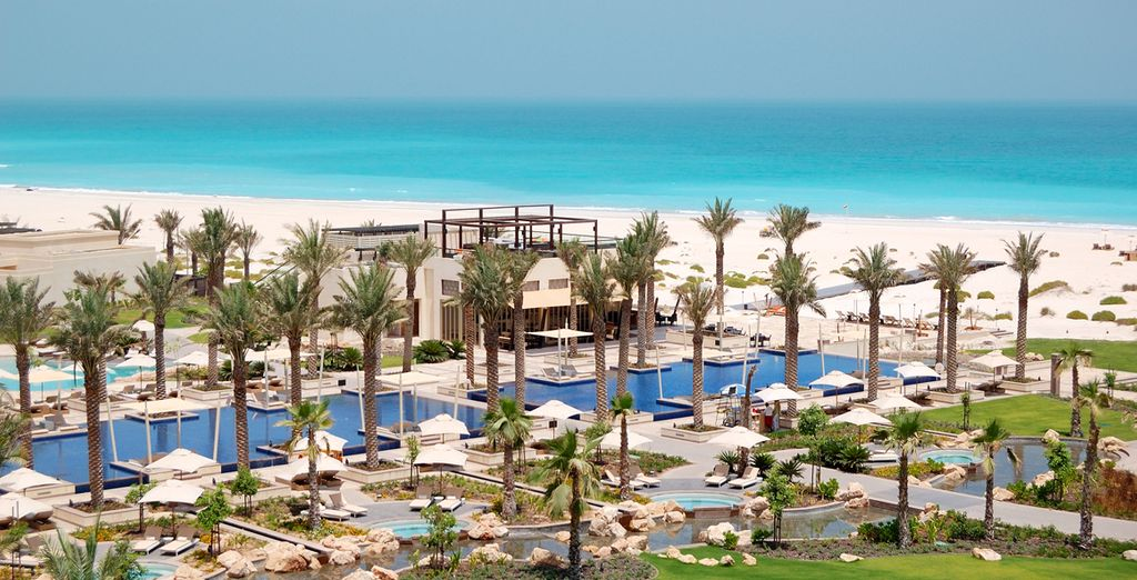 Nestled on  Saadiyat Island