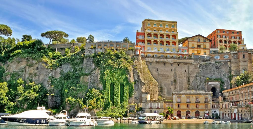 Discover the treasures of Sant 'Agnello and Sorrento
