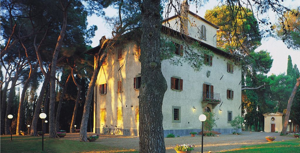 At this 18th century villa, converted into a charming hotel