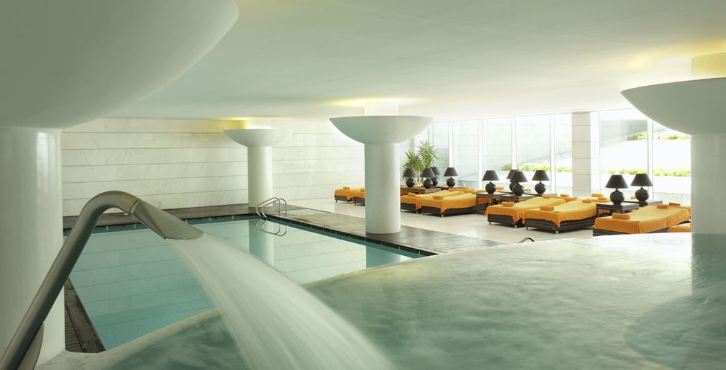 After a day out sightseeing, recharge in the hotel's spa
