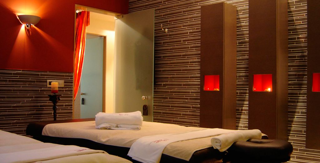 Our fabulous offer includes a daily spa treatment!