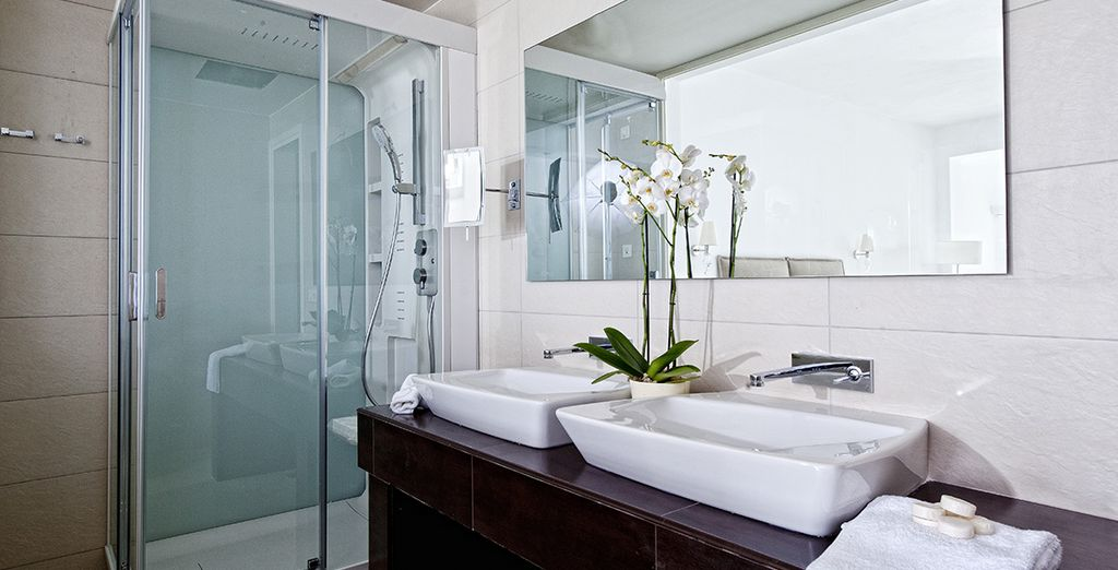 With the most modern luxury amenities